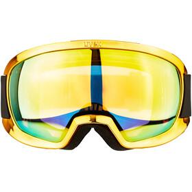 UVEX Contest FM - Gafas de esquí - amarillo